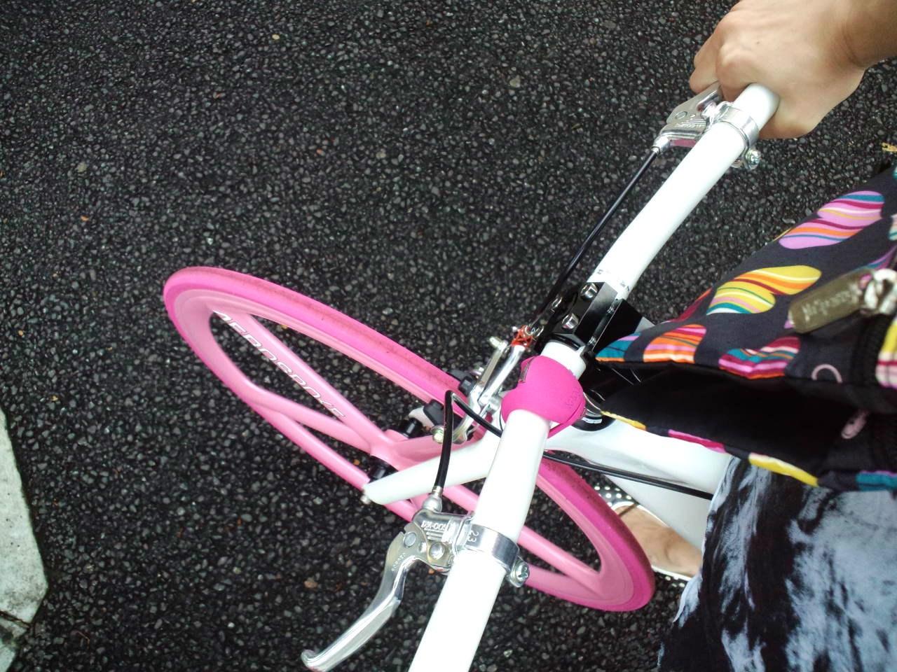 自転車コーデ _c0151965_1839812.jpg