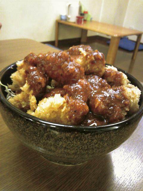 2011年8月22日 ソースカツ丼_a0202976_11272968.jpg