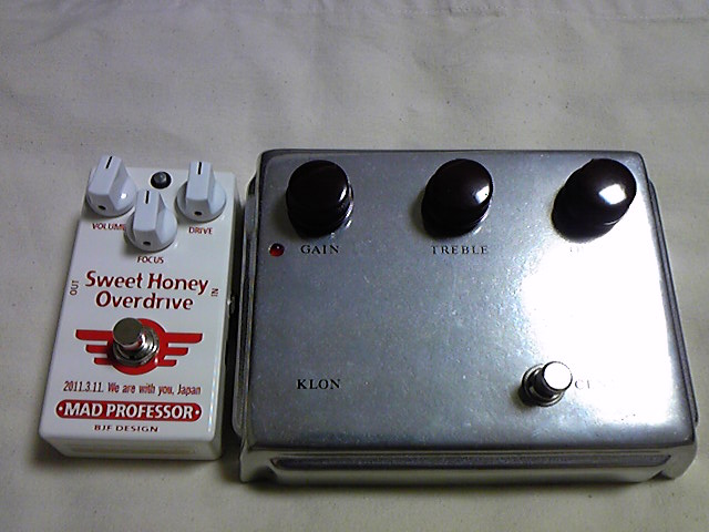 "MAD PROFESSOR""New Sweet Honey Overdrive Japan Limited Edition""_e0052576_1172610.jpg"