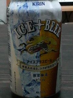 アイスプラスビール_f0228680_9192854.jpg