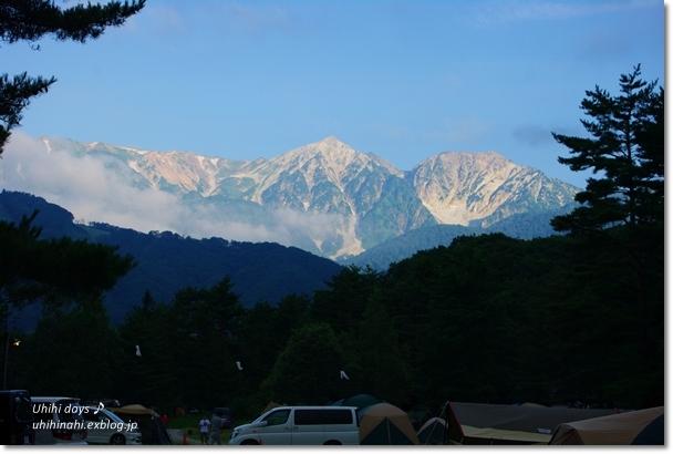 白馬でキャンプ と 白馬大池登山!_f0179404_21503060.jpg