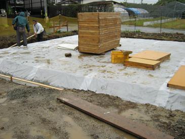 豊科H邸新築工事が始まりました。_c0218716_17525655.jpg