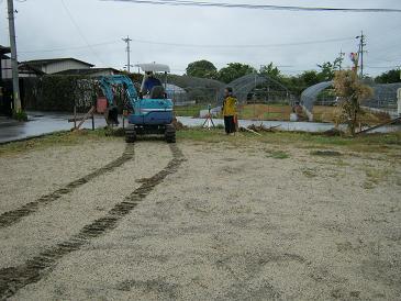 豊科H邸新築工事が始まりました。_c0218716_1753153.jpg