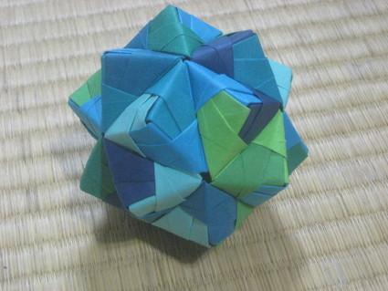ハート 折り紙 折り紙 立方体 折り方 : utsusemifo.exblog.jp