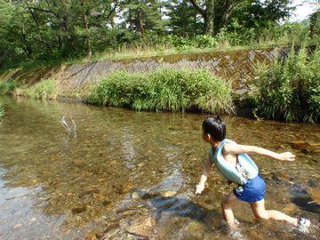 川で遊んだのって初めてー!!_a0096989_23305196.jpg