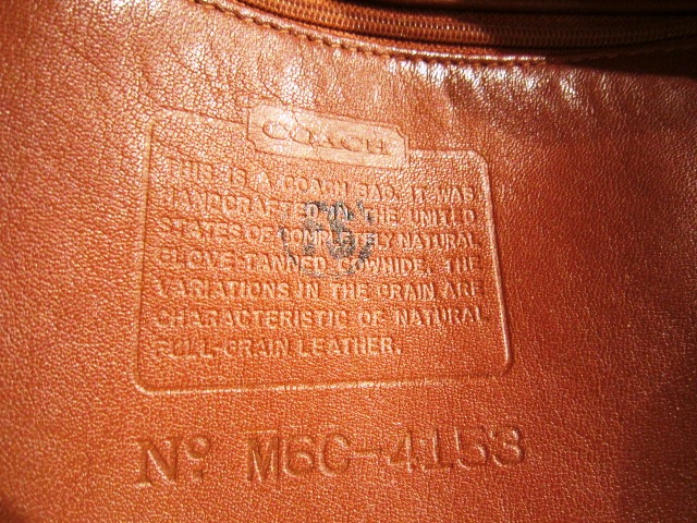 "Used ""OLD COACH BAG\"" 更新!_f0191324_114113.jpg"