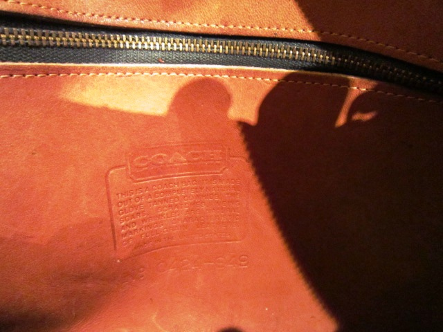 "Used ""OLD COACH BAG\"" 更新!_f0191324_11421813.jpg"