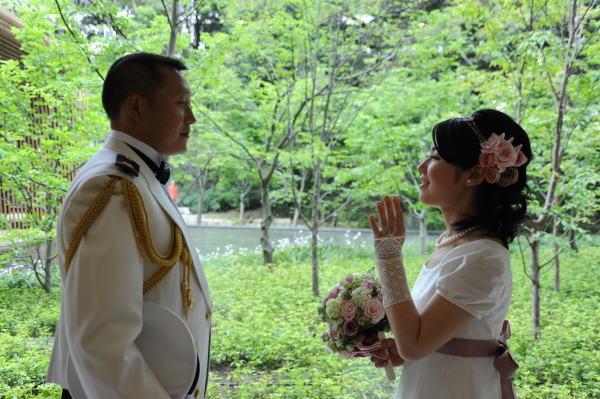 新郎新婦様からのメール 春のお花畑 ルアール東郷様へ_a0042928_19394678.jpg