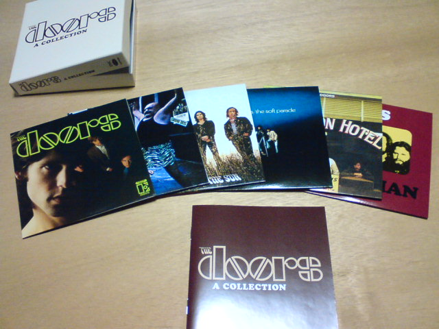 本日到着CD!〜 A Collection / The Doors_c0104445_22415650.jpg