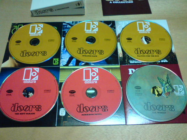 本日到着CD!〜 A Collection / The Doors_c0104445_22423095.jpg