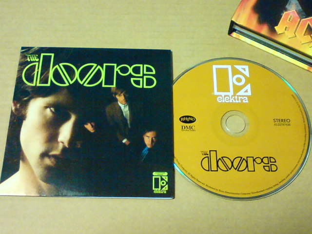 本日到着CD!〜 A Collection / The Doors_c0104445_22444376.jpg