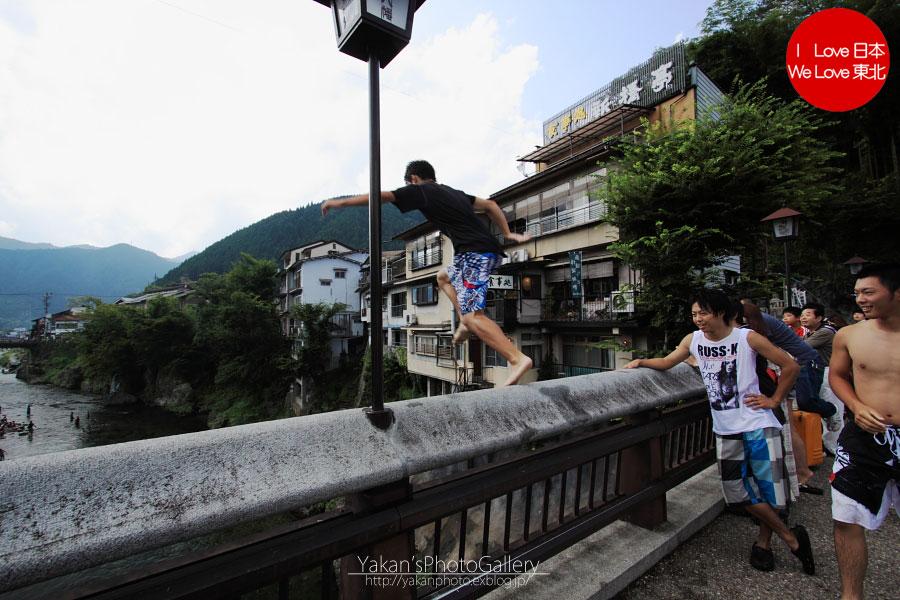 郡上八幡写真撮影記06 川飛び込み 新橋編_b0157849_161810.jpg