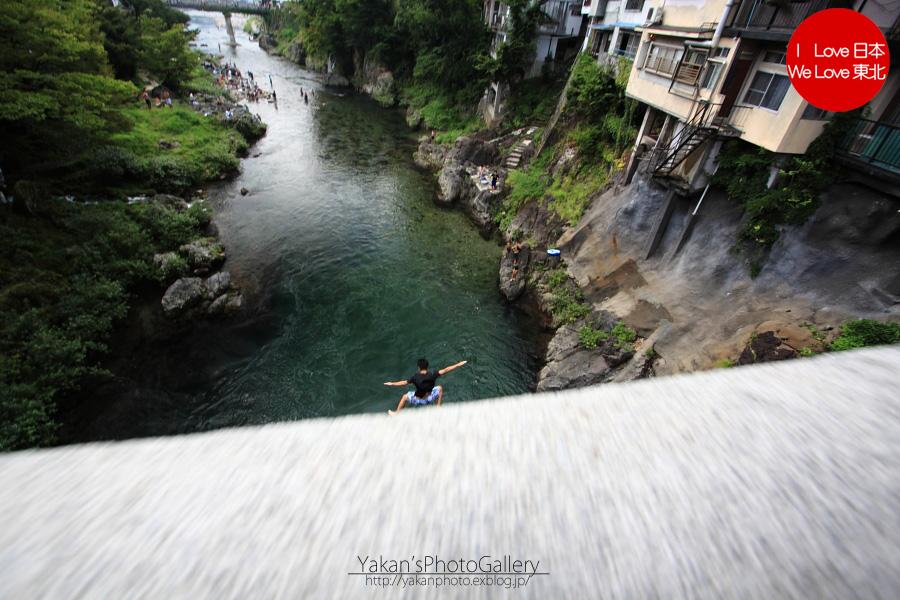 郡上八幡写真撮影記06 川飛び込み 新橋編_b0157849_163015.jpg