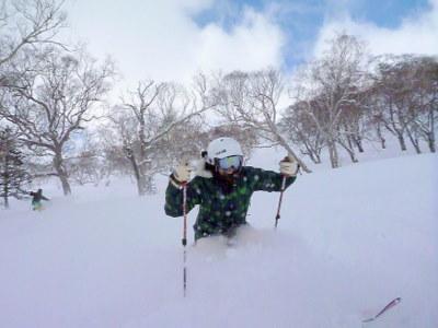 【滑走レポ30 2011.3.10】 今日は3月の新雪パウダー滑り込みの日@かぐら_e0037849_84613100.jpg