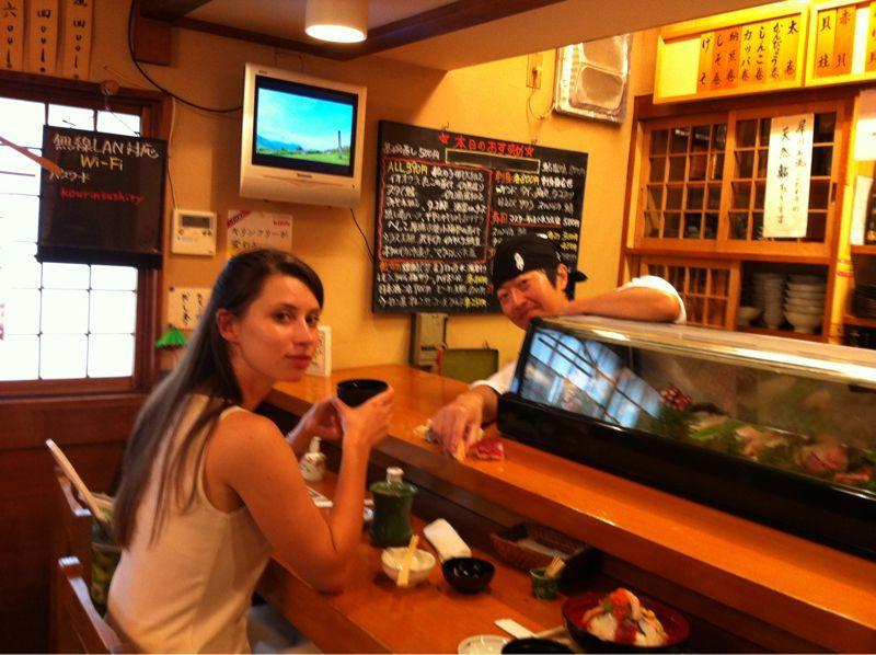 ダナさん!JAPAN TENTに来たんダナ?_c0110051_9242331.jpg