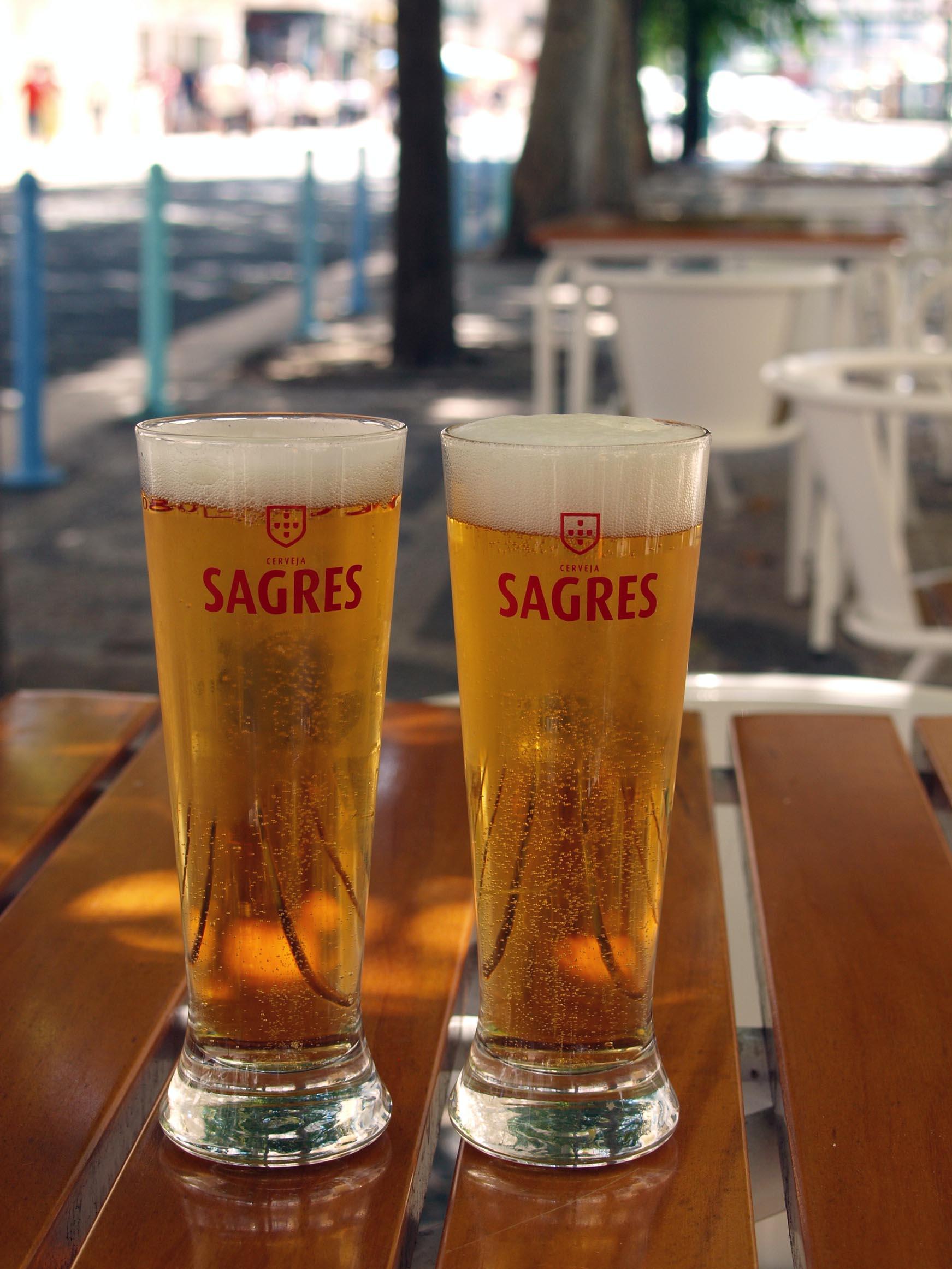 ポルトガル紀行ーーポルトガル国民的ビール!!_c0179785_414654.jpg