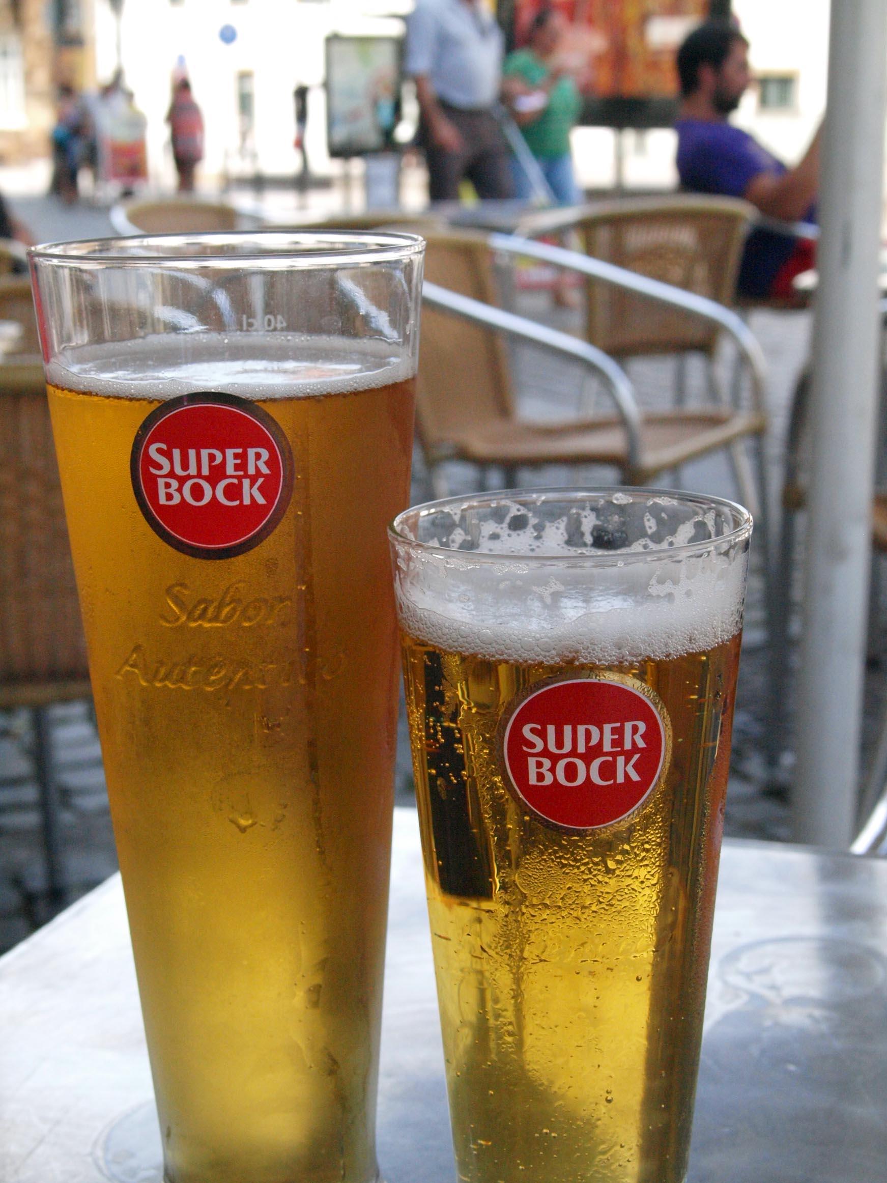 ポルトガル紀行ーーポルトガル国民的ビール!!_c0179785_415943.jpg