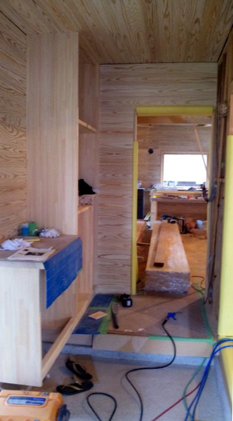 K様邸「船場町の家」 内部造作中です。_f0150893_17101999.jpg