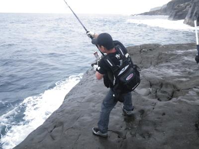 沖縄 離島遠征 磯からGTを狙う!!(その5) _a0153216_1152470.jpg