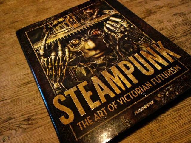 ついに来ました! Steampunk: The Art Of Victorian Futurism_e0209927_21263770.jpg