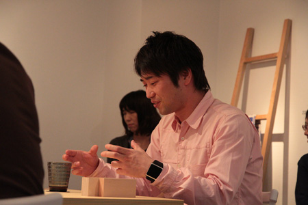 ギャラリートーク DRILL DESIGN × AOI HUBER × 萩原 修_f0171840_14143790.jpg