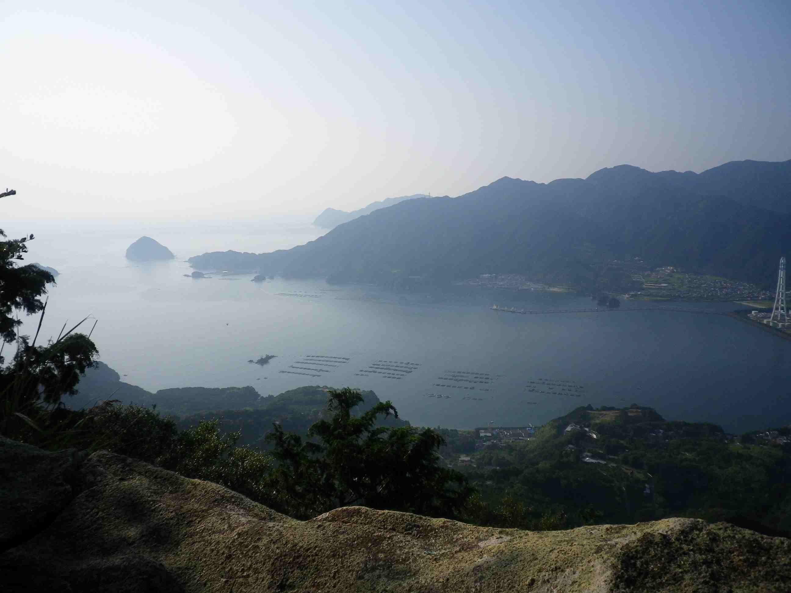 世界遺産熊野古道(馬越峠/天狗倉山)より_d0157745_23463845.jpg