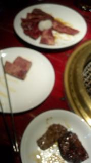 焼き肉食べましたぁ_e0114246_6381130.jpg