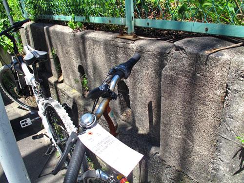 山手線中里用水ガードと、脇に残る謎の欄干(谷田川暗渠)_c0163001_23371769.jpg