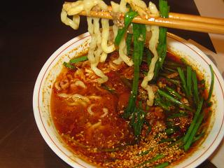 自作(ニラ)坦々麺_a0139242_5531361.jpg
