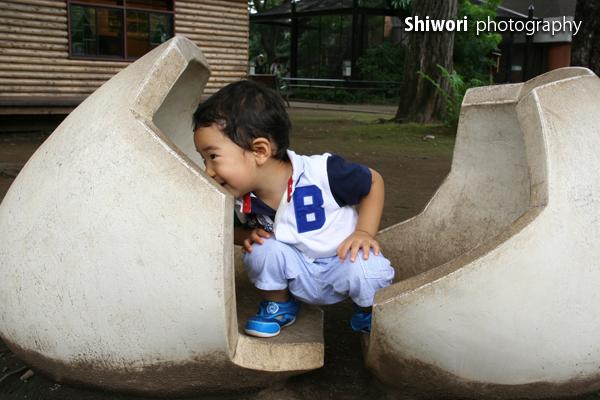 甥っ子☆夏の井の頭公園_d0170980_175636.jpg
