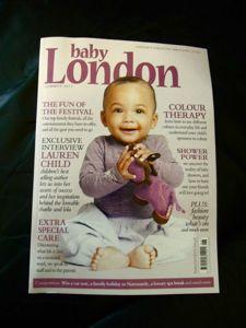 イギリス版「たまひよ」&オススメ雑誌「baby London」_e0030586_2155213.jpg
