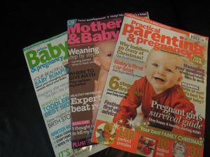 イギリス版「たまひよ」&オススメ雑誌「baby London」_e0030586_21552376.jpg