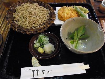家庭菜園&竹やぶのお蕎麦_e0139694_20245171.jpg