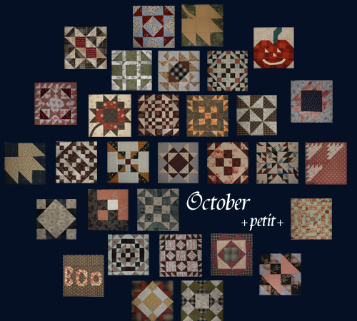 バースデーキルト All patterns*October*_a0122205_2112271.jpg