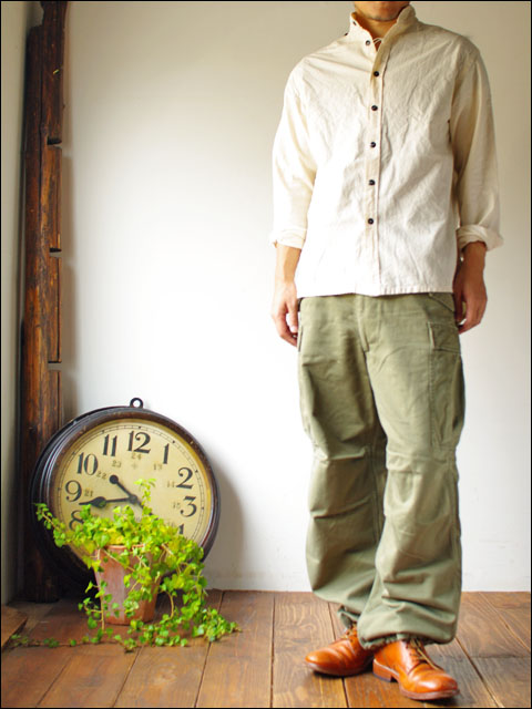 GARMENT REPRODUCTION OF WORKERS [ガーメント リプロダクション オブ ワーカーズ] stand farmer shirts _f0051306_19584784.jpg