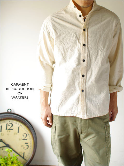 GARMENT REPRODUCTION OF WORKERS [ガーメント リプロダクション オブ ワーカーズ] stand farmer shirts _f0051306_19584877.jpg