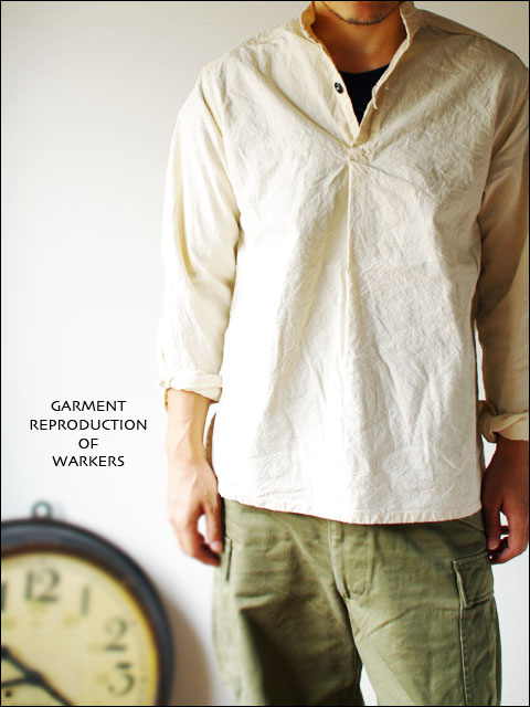 GARMENT REPRODUCTION OF WORKERS [ガーメント リプロダクション オブ ワーカーズ] stand farmer shirts _f0051306_2021982.jpg