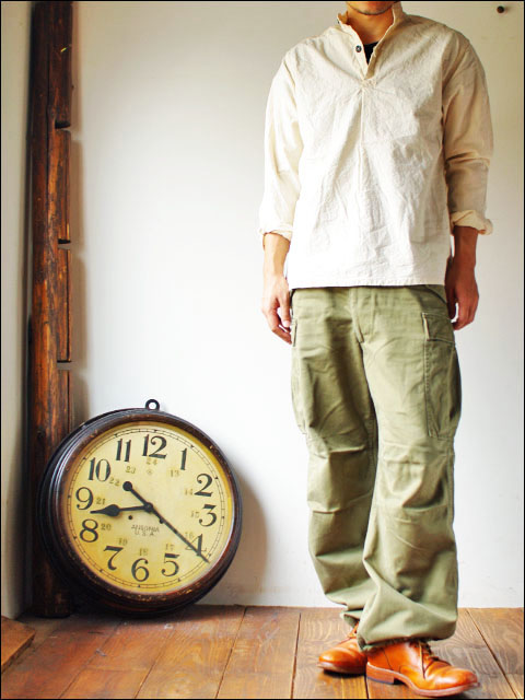GARMENT REPRODUCTION OF WORKERS [ガーメント リプロダクション オブ ワーカーズ] stand farmer shirts _f0051306_2022296.jpg