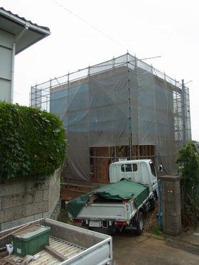 自由ヶ丘の家が上棟しました。_a0059217_14201468.jpg