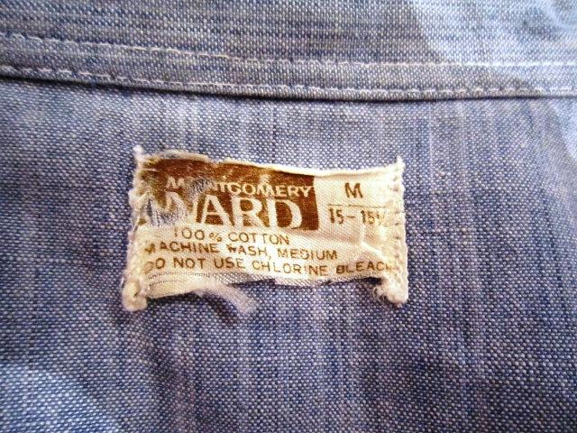 """Used \""""1960~70s シャンブレーシャツ\"""" 紹介_f0191324_9394780.jpg"""