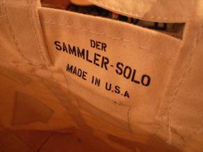 "\""Der SAMMLER solo × TheThreeRobbers COAL BAG S TRN/ORDER\""ってこんなこと。_c0140560_1425689.jpg"