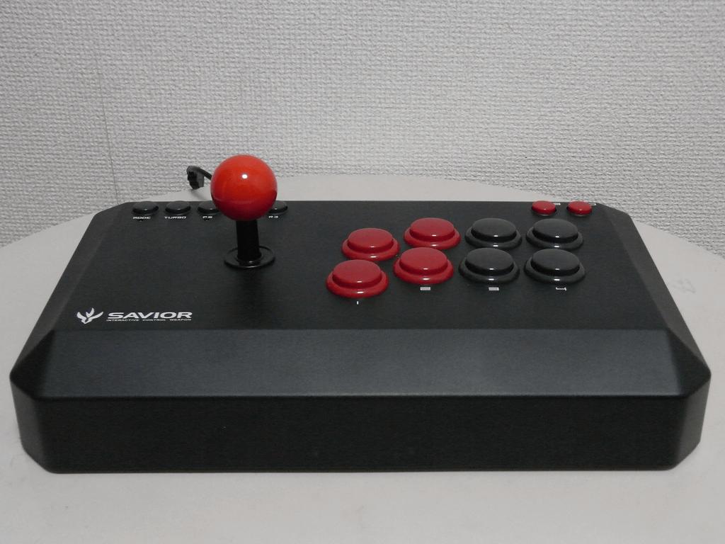 【レビュー】バッファローコクヨサプライ Arcade Stick 13 II(BSGPAC02BK)_c0004568_19582036.png