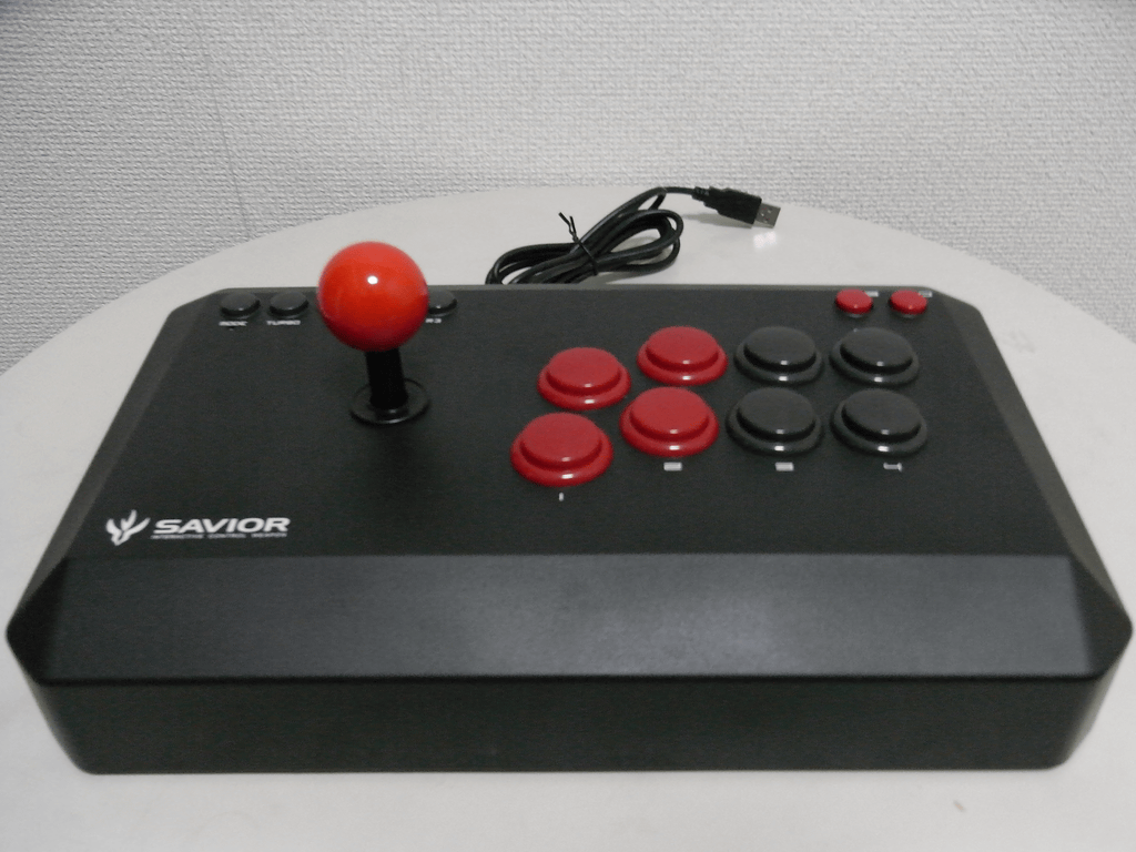 【レビュー】バッファローコクヨサプライ Arcade Stick 13 II(BSGPAC02BK)_c0004568_2021429.png