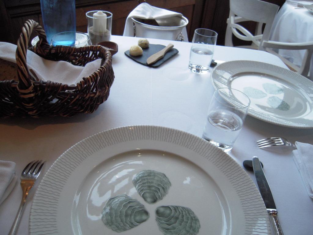 Restaurant le Coquillage レストラン・ル・コキヤージュ_a0066869_7212398.jpg