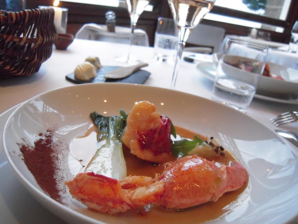 Restaurant le Coquillage レストラン・ル・コキヤージュ_a0066869_7224097.jpg