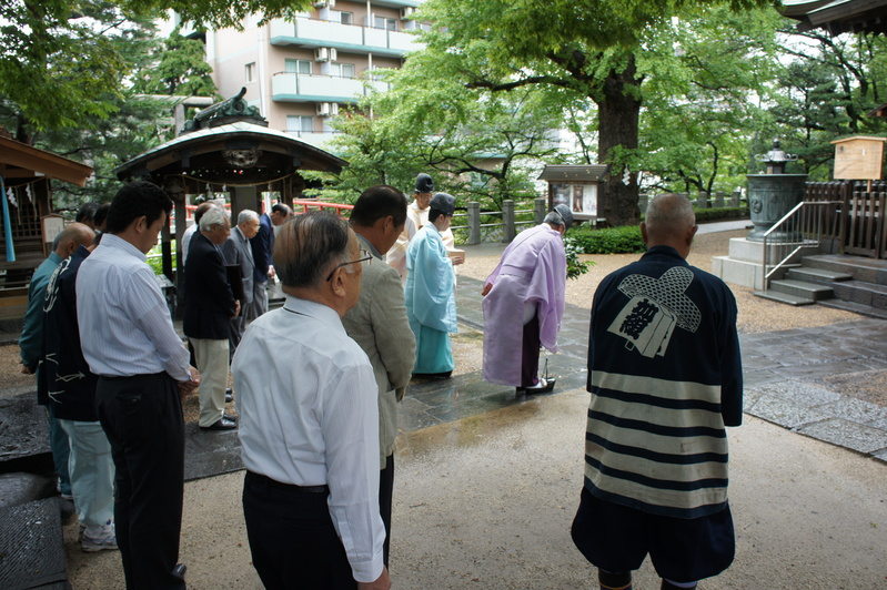 着工報告祈願祭  2011.8.22_e0223769_19134774.jpg