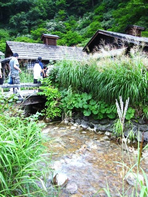 キャンプ2日目~鶴の湯温泉_f0073070_22265962.jpg