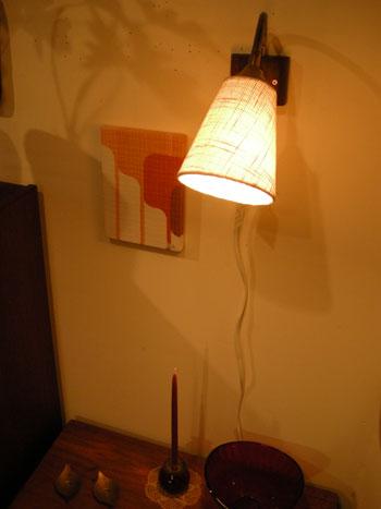 壁掛け照明(SWEDEN) & お知らせ_c0139773_18553647.jpg