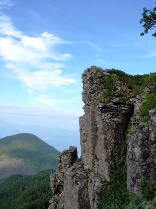岩峰に登る_e0077899_639156.jpg