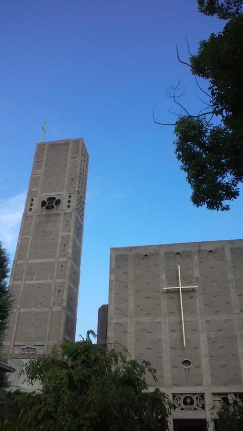 広島世界平和記念聖堂 カトリック幟町教会。。。.♡*† *・。・。+_a0053662_1238211.jpg